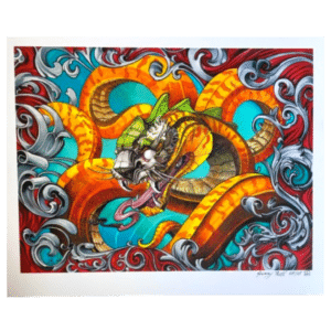 Tiger Snake Print